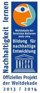 Logo_UN-Dekade_Offizielles Projekt_2013_2014_rgb