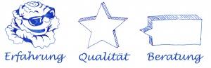 Erfahrung, Qualität und Beratung