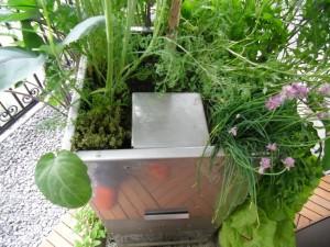 Komposter im KUBI