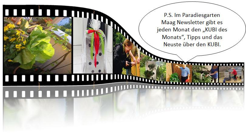Paradiesgarten Maag Newsletter